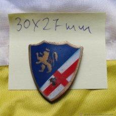 Militaria: INSIGNIA DE SOLAPA CUERPO DE EJÉRCITO DE ARAGÓN. GUERRA CIVIL MIDE 30X27 MM.. Lote 46833855