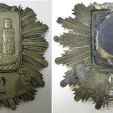 Militaria: MUY ANTIGUA INSIGNIA METÁLICA DE PECHO , POLICIA DE SANTANDER AÑOS 1915. Lote 46962475