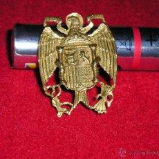 Militaria: DE MUY BUENA CALIDAD ESCUDO REGIMEN ANTERIOR CON ALFILER. Lote 47039290