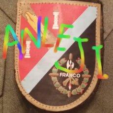 Militaria: ESCARAPELA DE BRAZO, IX BANDERA DE LA LEGION, BANDERA FRANCO, TERCIO SAHARIANO. Lote 47172320