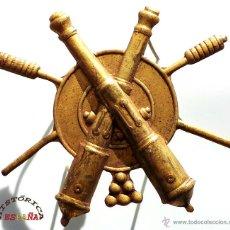 Militaria: ARTILLERÍA. EMBLEMA DE BRAZO DE ARTILLERO APUNTADOR (1902-1914 ). EXCELENTE ESTADO DE CONSERVACIÓN. Lote 47380927