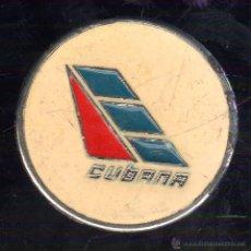 Militaria: PIN DE CUBANA DE AVIACION. AÑOS 70.. Lote 47950324