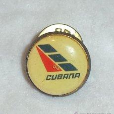 Militaria: PIN DE LA COMPAÑIA CUBANA DE AVIACION.. Lote 48549223