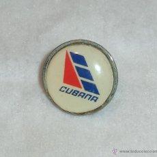 Militaria: PIN DE LA COMPAÑIA CUBANA DE AVIACION.. Lote 48549234