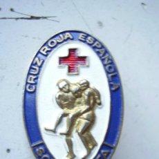 Militaria: EMBLEMA DE LA CRUZ ROJA. SOCORRISTA. Lote 48623175