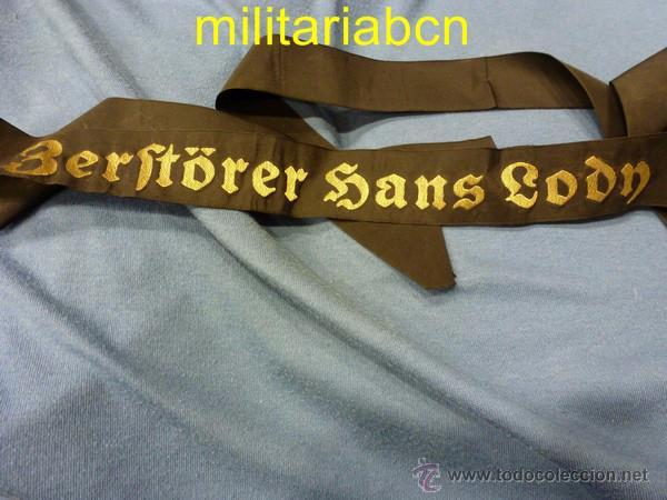 Militaria: Alemania III Reich. Lepanto de la Kriegsmarine. Período 1933-1939. Zerstörer Hans Lodn. - Foto 2 - 48849532