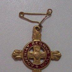 Militaria: DETENTE ENEMIGO EL CORAZON DE JESUS ESTA CONMIGO. Lote 48916653