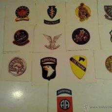 Militaria: 13 PEGATINAS DEL EJERCITO U.S.A. Lote 48949991