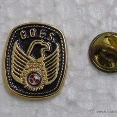 Militaria: PIN POLICIAL / GUARDIA CIVIL. GOES POLICÍA. GRUPO OPERACIONES ESPECIALES. Lote 49277132