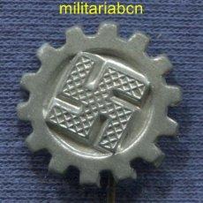 Militaria: ALEMANIA III REICH. INSIGNIA DE SOLAPA DEL RAD REICHS ARBEIT DIENST.. Lote 49540435