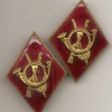 Militaria: PAREJA DE ROMBOS MILITARES DE OFICIAL. Lote 49594006