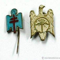 Militaria: 2 PINS DE LA ÁGUILA FRANQUISTA, 1930'S.. Lote 49749022