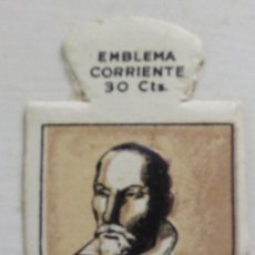 Militaria: EMBLEMA CORRIENTE AUXILIO SOCIAL 30 CTS. ALONSO CANO SERIE G Nº 26. Lote 49771944