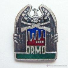 Militaria: POLONIA: DISTINTIVO DE MIEMBRO DEL ORMO (RESERVA VOLUNTARIA DE POLICIA SOCIALISTA) - EMBLEMA. Lote 49964056