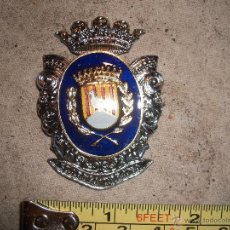 Militaria: POLICIA MUNICIPAL - CENTRO PLACA EMBLEMA. Lote 50359336