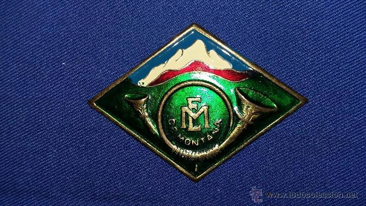 ROMBO ESCUELA MILITAR DE MONTAÑA (Militar - Insignias Militares Españolas y Pins)