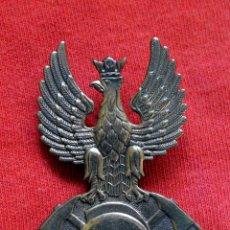Militaria: BOMBEROS POLONIA - ANTIGUA INSIGNIA DE METAL . GORRA BOMBERO?. Lote 51648296