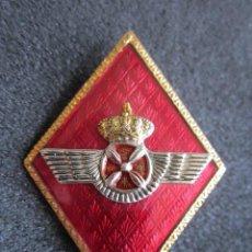 Militaria: ANTIGUA INSIGNIA MILITAR DE AVIACIÓN. ROKISKI ESMALTADO. . Lote 51795372