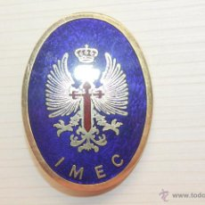 Militaria: INSIGNIA IMEC, 5,50X4 CM. Lote 51796421