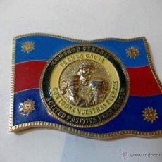 Militaria: PRECIOSA E IMPORTANTE INSIGNIA MILITAR COLOMBIANA DE GENERAL, ESMALTE GRAN CALIDAD. Lote 52121341