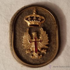 Militaria: PLACA DE PECHO MILITAR CORONA REAL Y AGUILA.. Lote 52348542