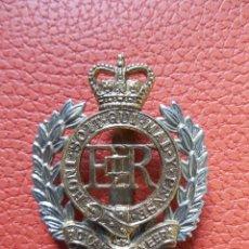 Militaria: EMBLEMA METALICO DE BOINA PARA OFICIALES DE LOS ROYAL ENGINEERS.UK. Lote 209240703