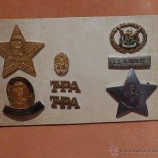 Militaria: RARISIMO LOTE DE INSIGNIA DE POLICIA DE SUDAFRICA, ORIGINAL.. Lote 52703882