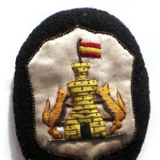Militaria: DISTINTIVO GALLETA DEL CUERPO DE INGENIEROS GUERRA CIVIL - 7 CM DE ALTO. Lote 52750775