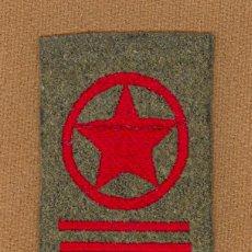 Militaria: EMBLEMA PARA CAMISA, GUERRERA DE COMISARIO POLITICO BRIGADA, REPUBLICA ESPAÑOLA, GUERRA CIVIL1936/39. Lote 156014660