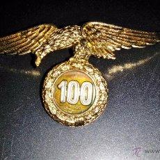 Militaria: DISTINTIVO DE CIEN SALTOS, PRIMERA EPOCA BRIGADA PARACAIDISTA,PERTENECIENTE A UN CORONEL. Lote 52810442