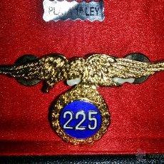 Militaria: DISTINTIVO DE SALTOS DE LA BRIGADA PARACAIDISTA DE 225 SALTOS,PLATA DE PRIMERA LEY PUNZONADA. Lote 53235814