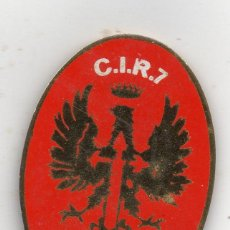 Militaria: VALENCIA, MARINES, CIR Nº 7 PLACA INSIGNIA, AUXILIAR DE INSTRUCCION.. Lote 53452976