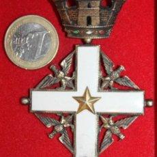 Militaria: INSIGNIA CRUZ DE LA ORDEN AL MERITO DE LA REPUBLICA ITALIANA. Lote 53480565