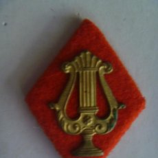 Militaria: ROMBO DE CUELLO DE MUSICO MILITAR , EPOCA DE FRANCO .. Lote 53610047