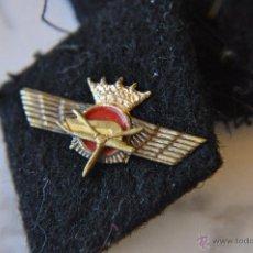 Militaria: AVIACION, PAREJA DE ROMBOS DE INGENIEROS AERONÁTICOS. Lote 53953907
