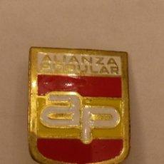 Militaria: PIN DE ALFILER ,DE ALIANZA POPULAR, FRAGA IRIBARNE ANTES DE PP DE 2 X 1,5 CMS. Lote 177415247