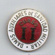 Militaria: DAMAS AUXILIARES DE SANIDAD MILITAR,CURSO II (ESMALTES). Lote 54356574