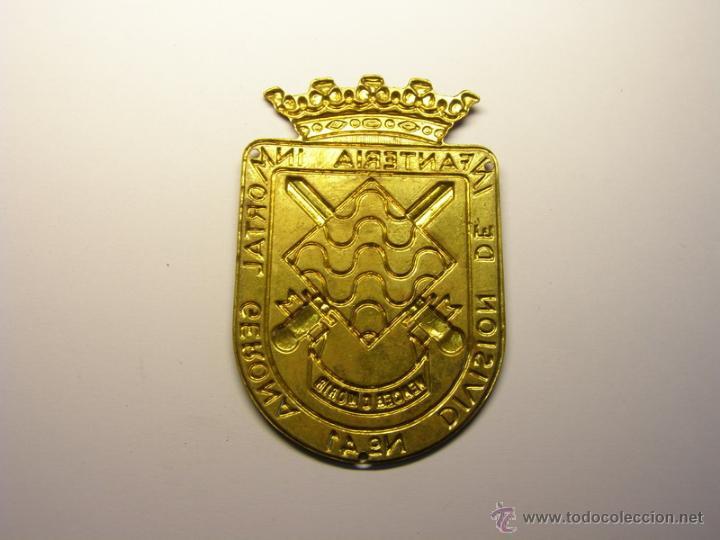 Militaria: Insignia escudo de brazo División de Infanteria Inmortal de Gerona, nº 41. Años 40-60. - Foto 2 - 54385895