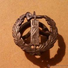 Militaria: INSIGNIA DE SOLAPA DE JUSTICIA EPOCA DE LA REPUBLICA. Lote 54399295