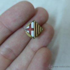 Militaria - Antigua insignia esmaltada de Barcelona - Catalunya, años 30, republicana y guerra civil - 54699059
