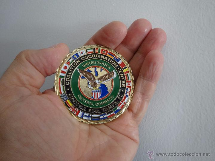 Militaria: CHALLENGE COIN COALITION COORDINATION CENTER. MC DILL AFB TAMPA - Foto 2 - 57127434