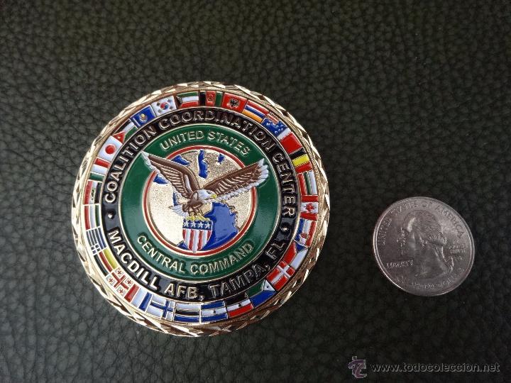 Militaria: CHALLENGE COIN COALITION COORDINATION CENTER. MC DILL AFB TAMPA - Foto 3 - 57127434