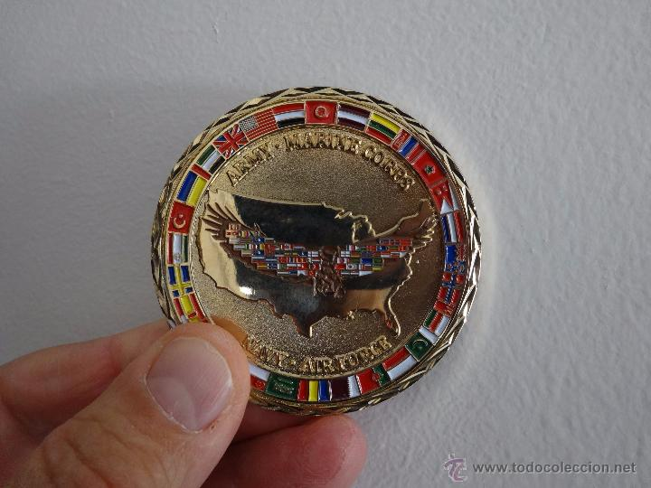 Militaria: CHALLENGE COIN COALITION COORDINATION CENTER. MC DILL AFB TAMPA - Foto 5 - 57127434