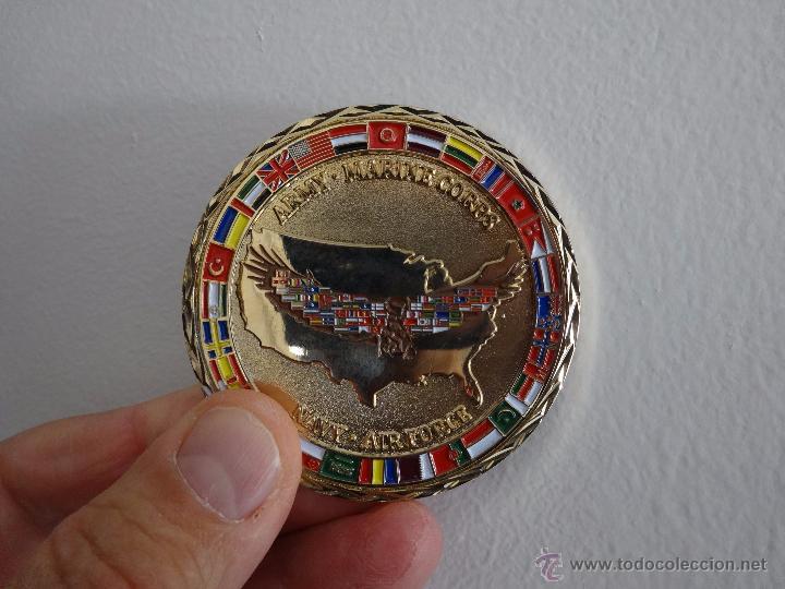 Militaria: CHALLENGE COIN COALITION COORDINATION CENTER. MC DILL AFB TAMPA - Foto 5 - 57127434