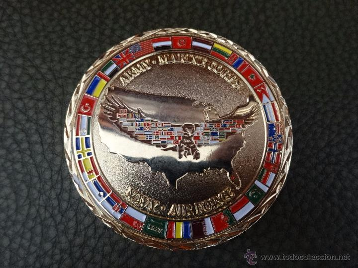 Militaria: CHALLENGE COIN COALITION COORDINATION CENTER. MC DILL AFB TAMPA - Foto 6 - 57127434