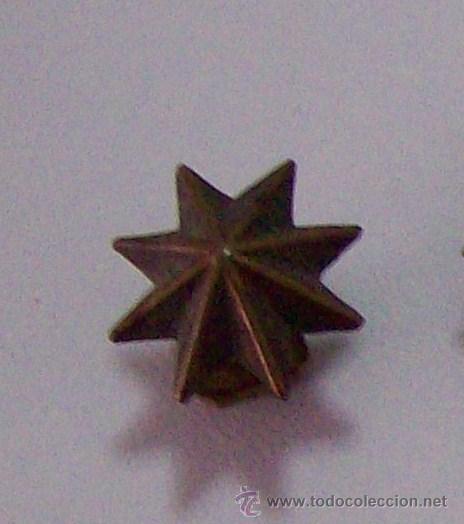 ESTRELLA COMANDANTE (Militar - Insignias Militares Españolas y Pins)