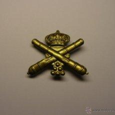Militaria: INSIGNIA DE ARTILLERIA, ÉPOCA ALFONSO XII.. Lote 54879579