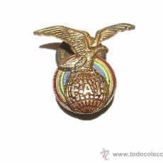 Militaria: ANTIGUA INSIGNIA ESMALTADA......F A I.. Lote 30017034