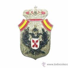 Militaria: ANTIGUA INSIGNIA REQUETE.CARLISTA.....DE PLATA....VIVA ESPAÑA..DIOS PATRIA REY.. Lote 35231317