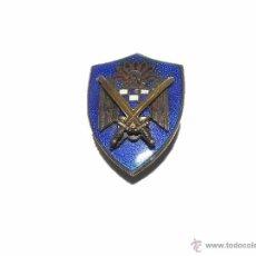Militaria: ANTIGUA Y PEQUEÑA INSIGNIA DE SOLAPA ESMALTADA.. Lote 49486422